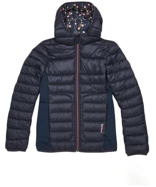 Girl's Barbour Saltburn Quilted Jacket – 10-15yrs - Navy