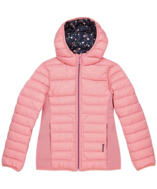 Girl's Barbour Saltburn Quilted Jacket – 10-15yrs - Vintage Rose