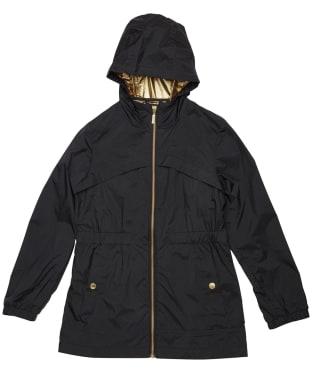 Girl's Barbour International Gearbox Showerproof Jacket – 6-9yrs - Black