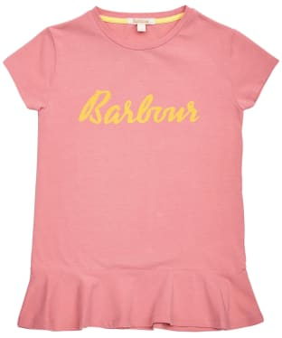 Girl's Barbour S/S Rebecca Tee – 6-9yrs - Vintage Rose