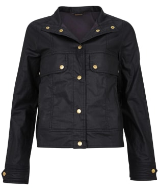 Women's Barbour International Victory Casual Jacket - Black
