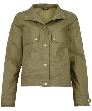 Women's Barbour International Victory Casual Jacket - Lt Army Green