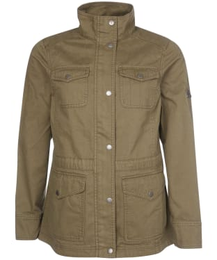 Women's Barbour Ramble Casual Jacket - Dusty Green