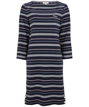 Women's Barbour Merseyside Dress - Navy Stripe