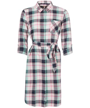 Women's Barbour Padstow Dress - Cloud Check