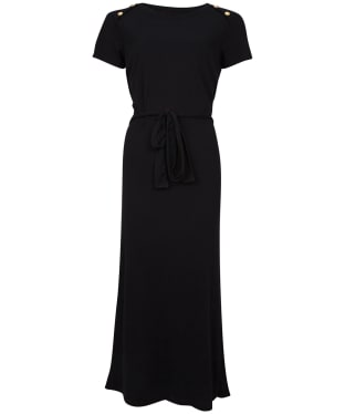 Women's Barbour International Hairpin Dress - Black
