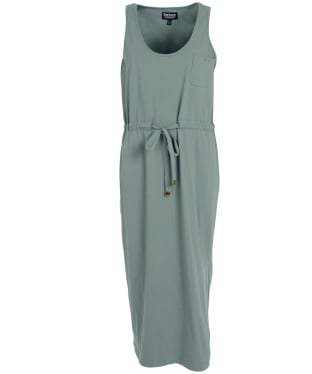 Women's Barbour International Qualify Dress - Lt Army Green