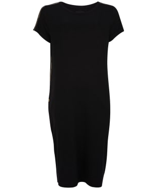 Women's Barbour International Grid Dress - Black