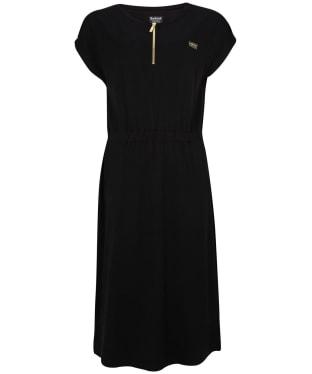 Women's Barbour International Throttle S/S Dress - Black