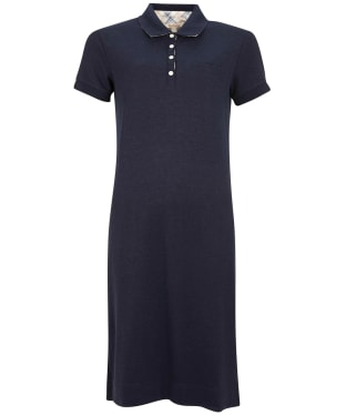 Women's Barbour Polo Dress - Navy