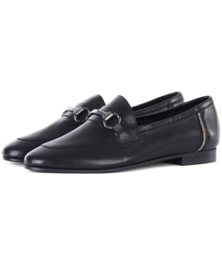 Women's Barbour Sofia Loafers - Black