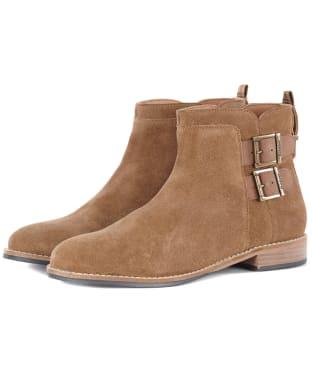 Women's Barbour Cornbury Boots - Cognac Suede