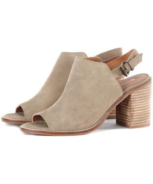 Women's Barbour Scarlett Sandals - Sand Suede