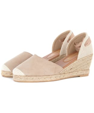 Women's Barbour Amara Wedges - Oatmeal