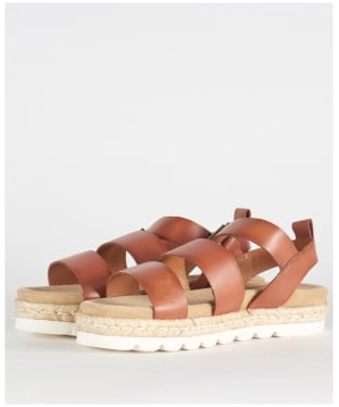 Women's Barbour Gabbie Sandals - Cognac