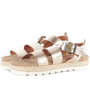 Women's Barbour Gabbie Sandals - Gold