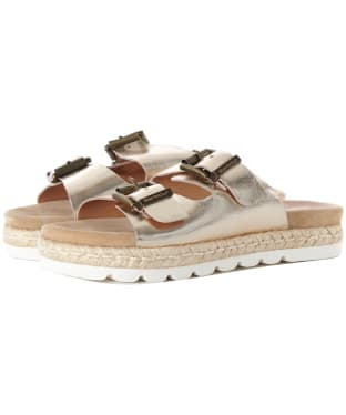Women's Barbour Lola Sandals - Gold