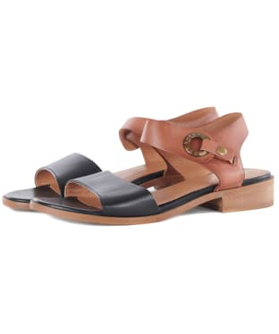 Women's Barbour Lucy Sandals - Tan / Black