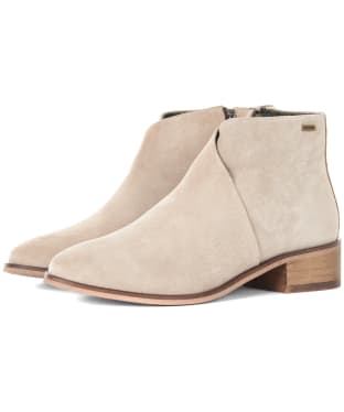 Women's Barbour Caryn Boots - Sand Suede