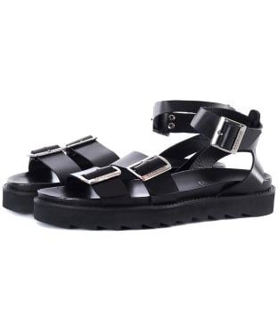Women's Barbour International Keira Sandals - Black