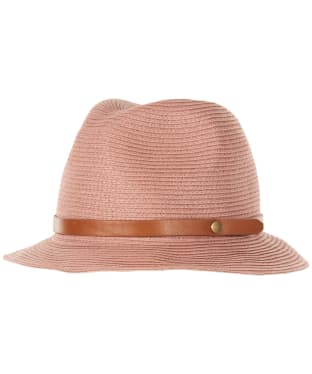 Women's Barbour Heathfield Trilby Hat - Dusty Pink