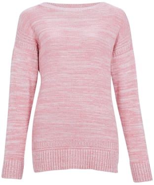 Women's Barbour Sailboat Knit Sweater - Sherbet