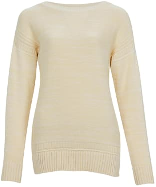 Women's Barbour Sailboat Knit Sweater - Yellow Haze