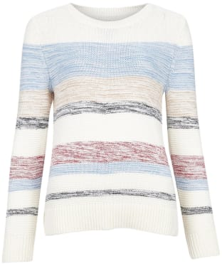 Women's Barbour Littlehampton Knit Sweater - New Off White