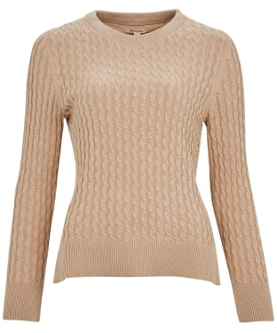 Women's Barbour Hampton Knit Sweater - Biscotti