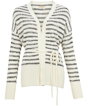 Women's Barbour Holywell Knit Cardigan - Off White
