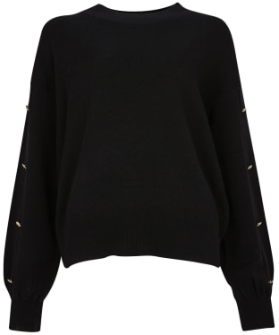 Women's Barbour International Drifting Knit - Black