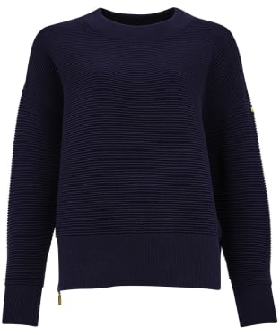 Women's Barbour International Delta Knit - Dark Navy