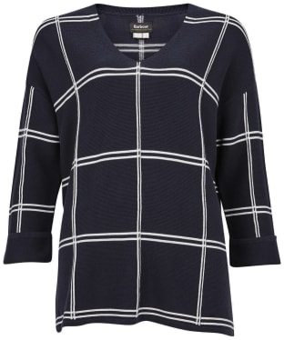 Women's Barbour Wellwood Knit - Navy