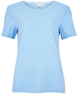 Women's Barbour Springtide Top - Sky Blue