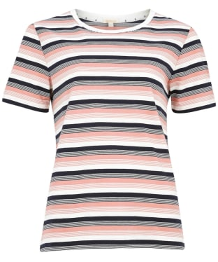 Women's Barbour Folkestone Top - Cloud Stripe