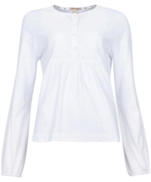 Women's Barbour Penfor Top - White