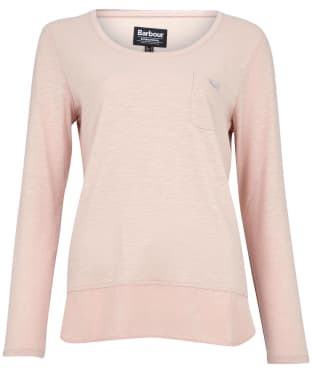 Women's Barbour International Pace Top - Silver Peony