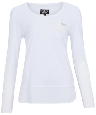 Women's Barbour International Pace Top - White