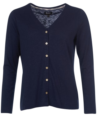 Women's Barbour Brunswick Top - Navy