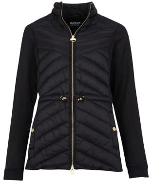 Women's Barbour International Understeer Sweater - Black
