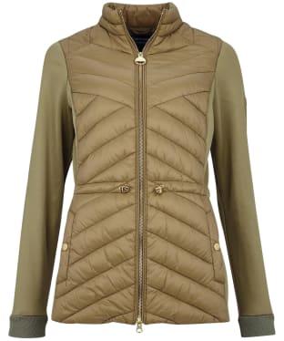 Women's Barbour International Understeer Sweater - Lt Army Green