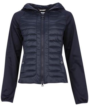 Women's Barbour Nethercote Sweat Jacket - Dark Navy
