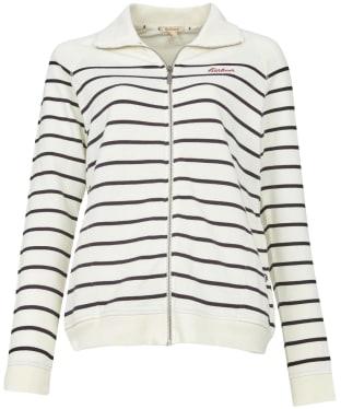 Women's Barbour Folkestone Overlayer - Cloud Stripe
