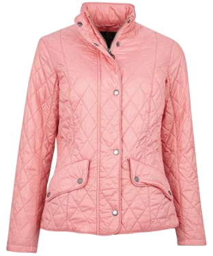 Women's Barbour Flyweight Cavalry Quilted Jacket - Dusty Rose