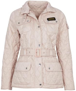 Women's Barbour International Lightweight Quilted Jacket - Oyster