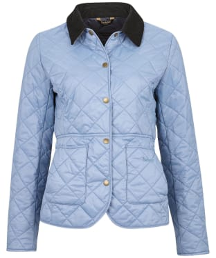 Women's Barbour Deveron Quilted Jacket - Blue Mist
