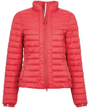 Women's Barbour Runkerry Quilted Jacket - Ocean Red