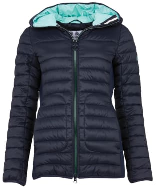 Women's Barbour Saltburn Quilted Jacket - Dark Navy