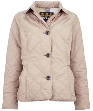 Women's Barbour Nelson Quilted Jacket - Light Trench