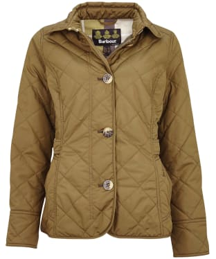 Women's Barbour Nelson Quilted Jacket - Olive